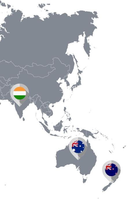 Les terroirs d'Asie & Océanie